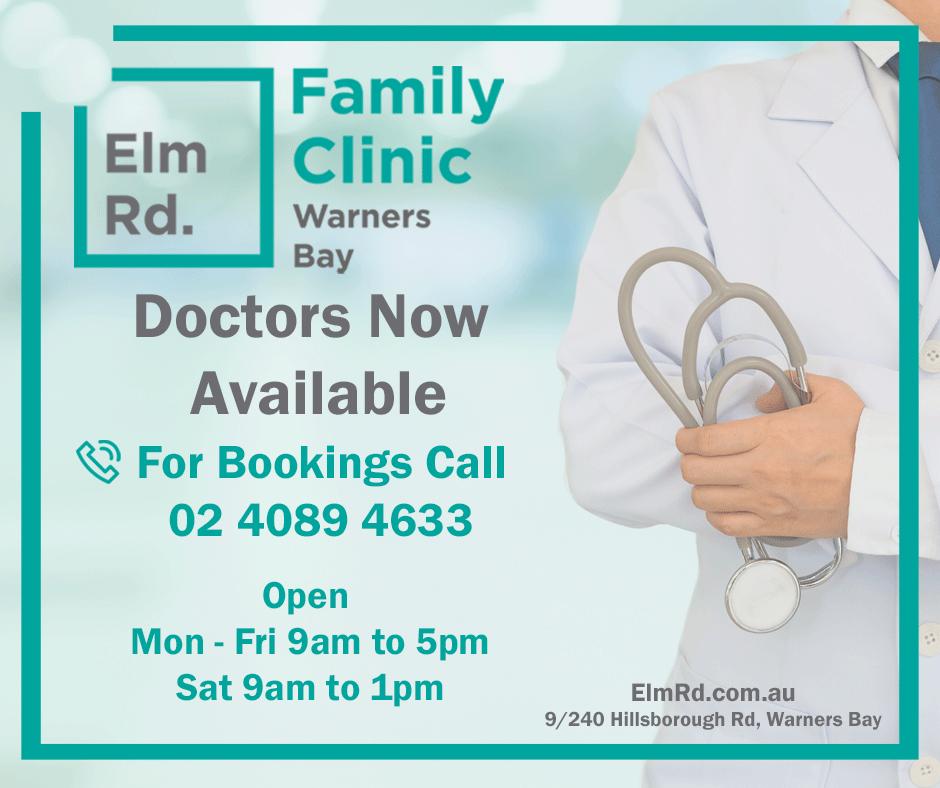 Elm Rd Warners Bay Advertisement
